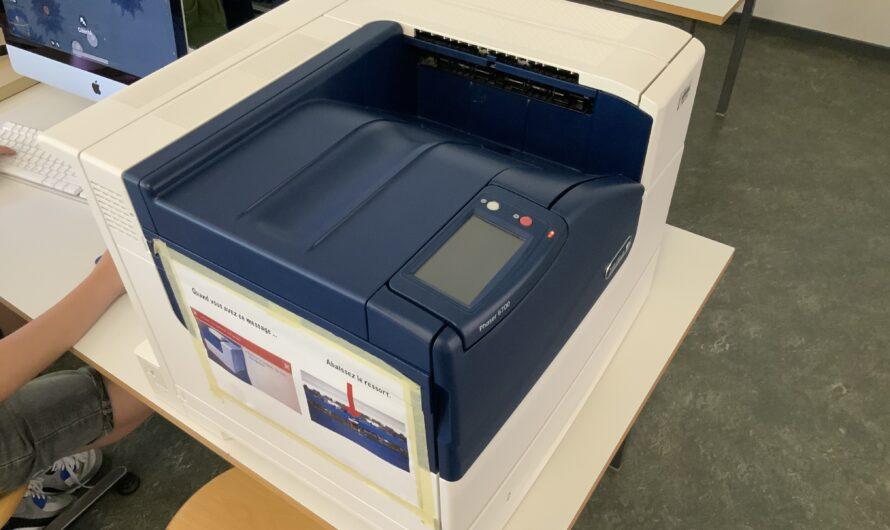 Rajouter une imprimante sur un poste Mac privé