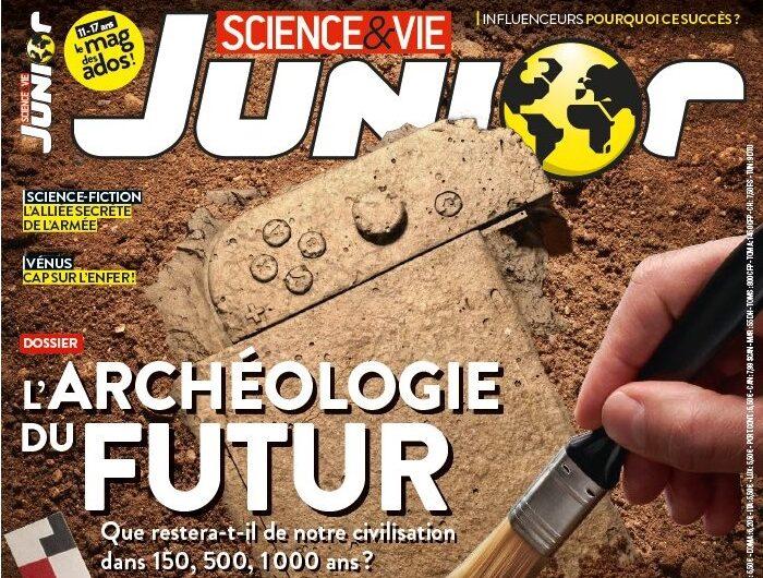 Viens découvrir le dernier numéro de Science et Vie Junior !